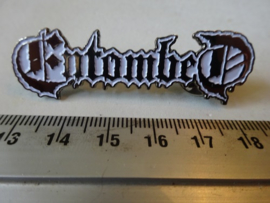 ENTOMBED - WHITE LOGO