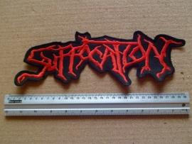 SUFFOCATION - RED LOGO