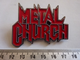 METAL CHURCH - RED LOGO