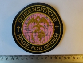QUEENSRYCHE - RAGE FOR ORDER ( RED/PURPLE  )