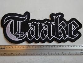 TAAKE - BLACK/WHITE NAME LOGO