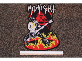 MIDNIGHT - INTO THE RING OF FIRE ( PRINT )
