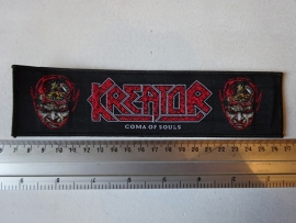 KREATOR - COMA OF SOULS (WOVEN STRIP )