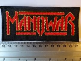 MANOWAR - RED/YELLOW LOGO