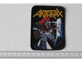 ANTHRAX - SPREADING THE DISEASE ( ORIGINAL 1985 ) PRINT