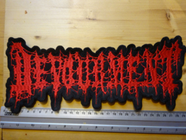 DEVOURMENT - RED LOGO