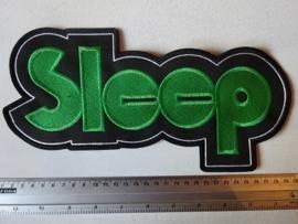 SLEEP - GREEN LOGO ( OLD )