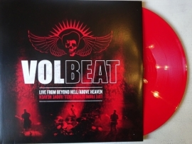 VOLBEAT - 3LP LIVE FROM BEYOND HELL ABOVE HEAVEN ( RED VINYL )
