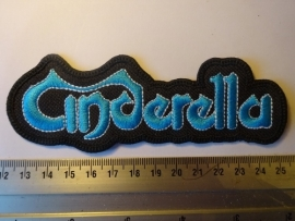 CINDERELLA - BLUE LOGO ( SHAPED )