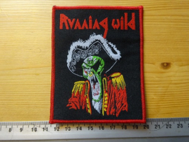 RUNNING WILD - PIRATE (RED BORDER ) WOVEN