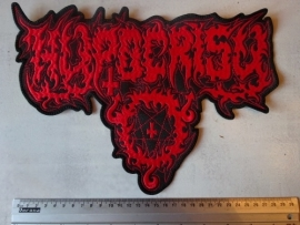 HYPOCRISY - RED LOGO