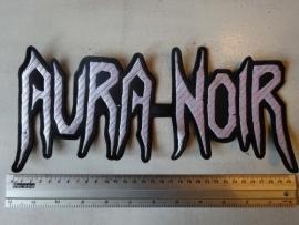 AURA NOIR - WHITE LOGO
