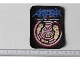 ANTHRAX - STATE OF EUPHORIA ( ORIGINAL 1988 ) PRINT