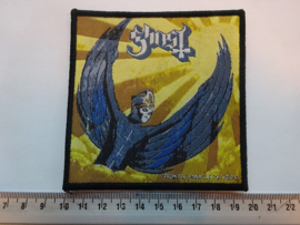 GHOST - FROM THE PINNACLE TO THE PIT ( BLACK BORDER ) WOVEN