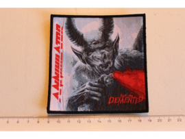 ANNIHILATOR - FOR THE DEMENTED ( BLACK BORDER ) WOVEN