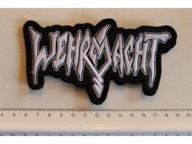 WEHRMACHT - WHITE NAME LOGO