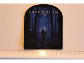 INSOMNIUM - WINTER'S GATE ( BLACK BORDER ) WOVEN