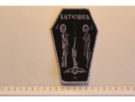 BATHOWKA/BATHUSHKA - SAINT AND SINNER ( SILVER BORDER ) WOVEN