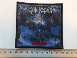 ICED EARTH - HORROR SHOW ( BLACK BORDER ) WOVEN