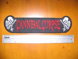 CANNIBAL CORPSE - RED LOGO + FETUS