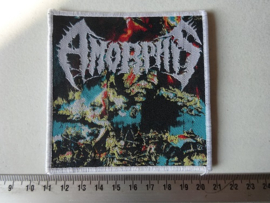 AMORPHIS - THE KARELIAN ISTHMUS ( WHITE BORDER ) WOVEN