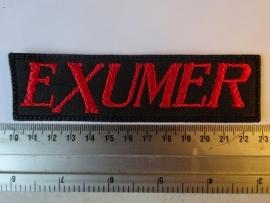 EXUMER - RED LOGO