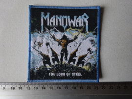 MANOWAR - THE LORD OF STEEL BLUE BORDER