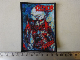 KREATOR - EXTREME AGGRESSION ( WOVEN, BLACK BORDER ) NUMBERED.