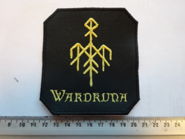 WARDRUNA - YELLOW NAME LOGO