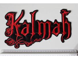 KALMAH - RED NAME LOGO