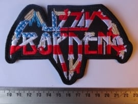 LIZZY BORDEN - USA FLAG LOGO