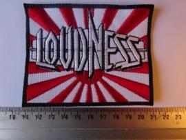 LOUDNESS - LIGHTNING STRIKES ( BLACK BORDER  ) DIFFERENT