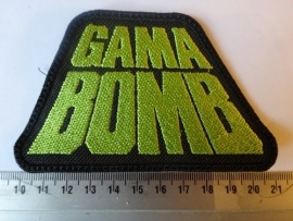 GAMA BOMB - GREEN LOGO