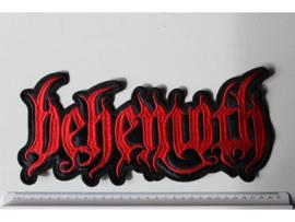 BEHEMOTH - RED NAME LOGO