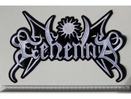 GEHENNA - WHITE NAME LOGO