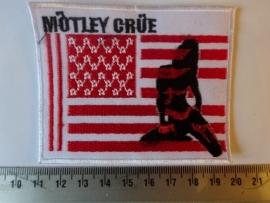 MOTLEY CRUE - US FLAG LOGO