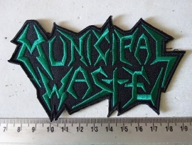 MUNICIPAL WASTE - DARK GREEN LOGO