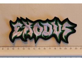 EXODUS - WHITE/GREEN NAME LOGO