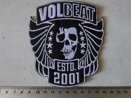VOLBEAT - EST 2001 ( WHITE )