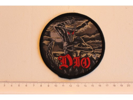 DIO - HOLY DIVER ( BLACK BORDER ) WOVEN