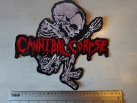 CANNIBAL CORPSE - RED LOGO + WHITE FETUS ( BIG )