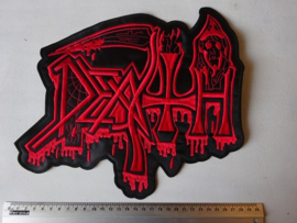 DEATH - OLD LOGO RED