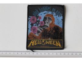 HELLOWEEN - PINK BUBBLES GO APE ( ORIGINAL 1991 ) WOVEN