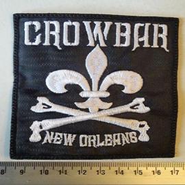 CROWBAR - NEW ORLEANS  ( WHITE LOGO )