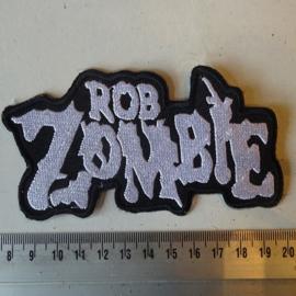 ROB ZOMBIE - WHITE LOGO