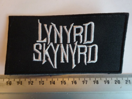 LYNYRD SKYNYRD - WHITE NAME LOGO