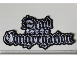 DEAD CONGREGATION - BLACK/WHITE NAME LOGO