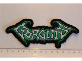 GORGUTS - WHITE/GREEN NAME LOGO