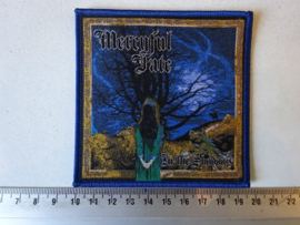 MERCYFUL FATE - IN THE SHADOWS ( BLUE  BORDER ) WOVEN