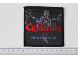 CINDERELLA - NIGHT SONGS ( ORIGINAL 1986 ) WOVEN